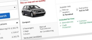 Booking car rental in Mallorca