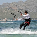 palma airport information, kite surfing in mallorca