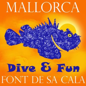 Dive & Fun diving centre logo Mallorca