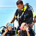 Training for kids to scuba dive in Mallorca