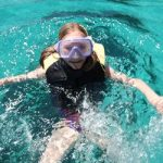 snorkling fun in Mallorca on holiday