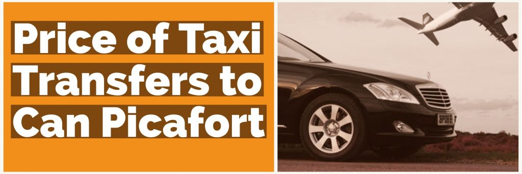 Taxi Transfer Prices to Can Picafort