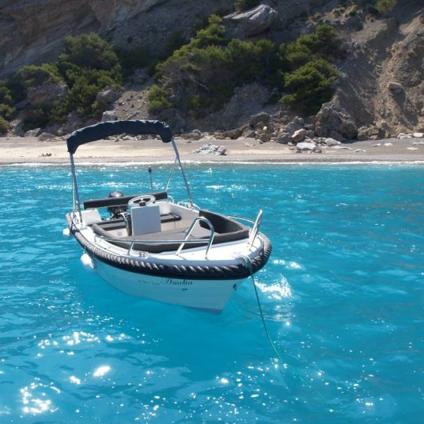 motor boat available for hire from Puerto de Alcudia