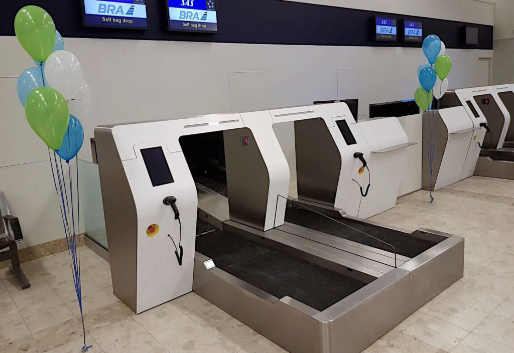 Palma Airport bag drop machines